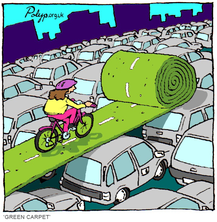 polyp_cartoon_transport_cycle_traffic_bicycle
